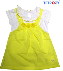girls-t-shirt-overall Girl's T-Shirt & Overall - Trendy Strollers