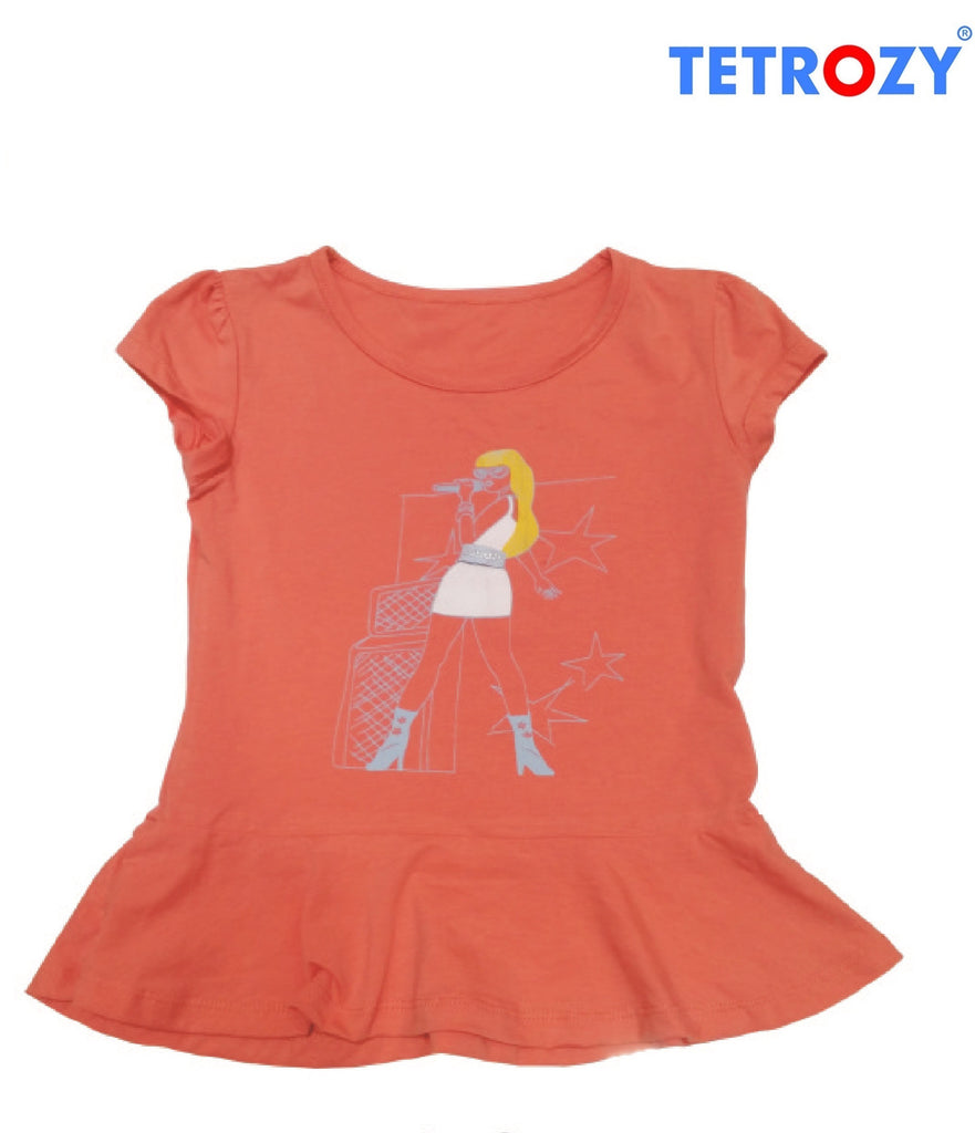 Tetrozy Girl's T-Shirt - Trendy Strollers