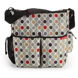 Skip Hop Duo Diaper Diaper Bag Wave Dot O/S - Trendy Strollers - 1