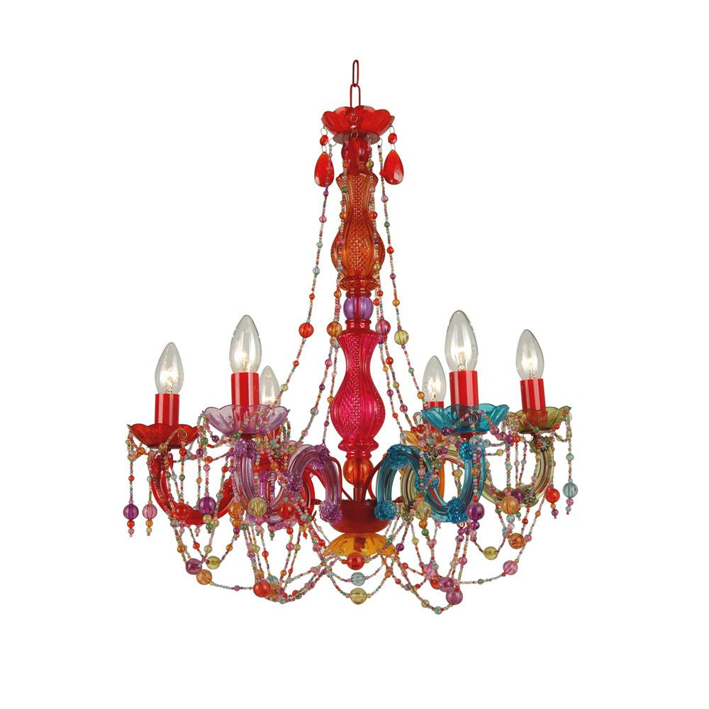 Bethel Multi Color Chandelier - Trendy Strollers
