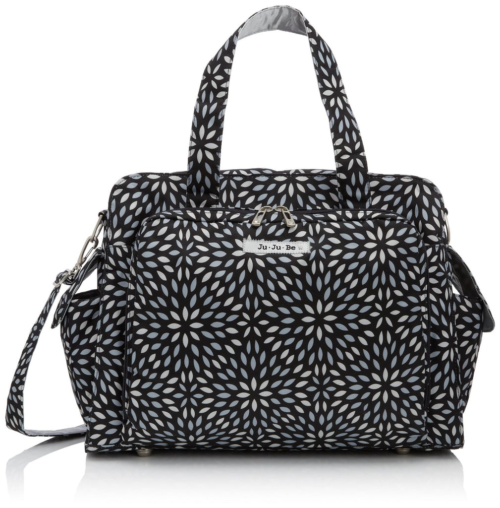 Jujube Be Prepared Diaper Diaper Bag - Platinum Petals - Trendy Strollers - 1