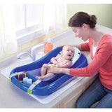 The First Years Sure Comfort Bathtub - Blue - Trendy Strollers - 6