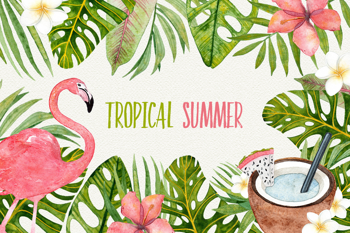 How to Bring the Totally Tropical Trend to Your Home