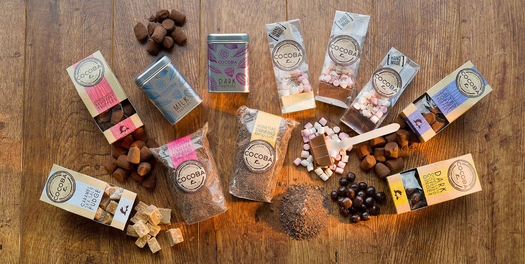 Cocoba Chocolate Range