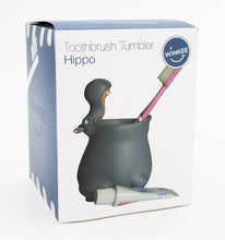 Load image into Gallery viewer, Hippo Toothbrush Holder