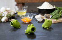 Load image into Gallery viewer, YolkFrog | Squeezy Egg Separator New, Silicone, Green