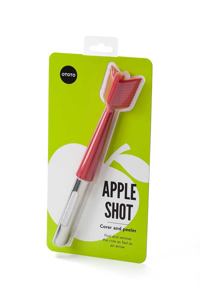 APPLE SHOT Corer & Peeler