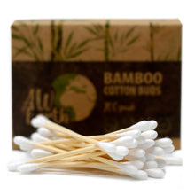 Load image into Gallery viewer, Box of 200 Bamboo Cotton Buds