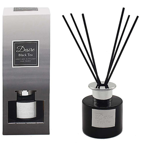 Black Tea Luxury Reed Diffuser