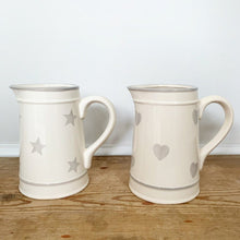 Load image into Gallery viewer, Grey Star Ceramic Jug