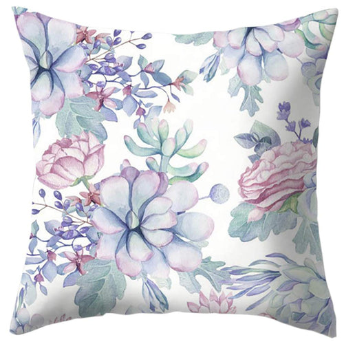 Succulent Leaves cushion