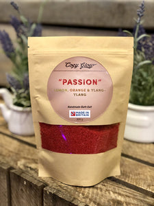 """Passion"" Lemon, Orange & Ylang-Ylang 300 g Bath Salt"