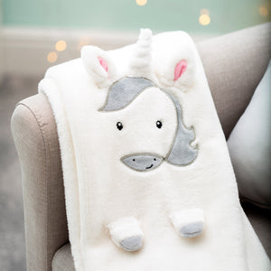 Unicorn Soft Fleece Baby Blanket