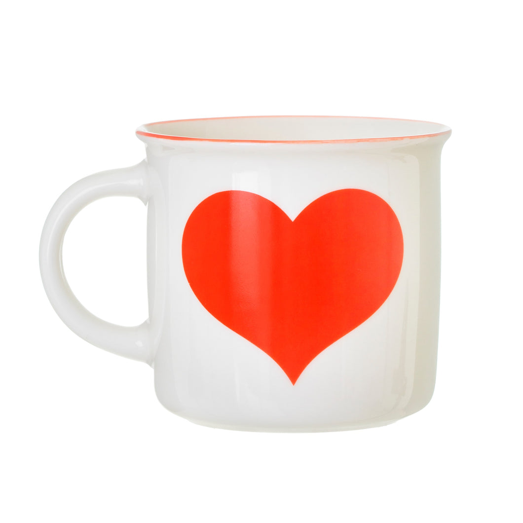 Red Love Heart Mug