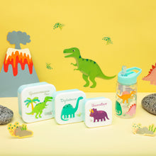 Load image into Gallery viewer, Set Of 3 Roarsome Dinosaurs Lunch Boxes