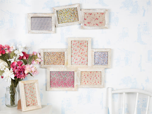Photo Frames White Wood Effect