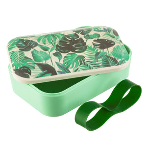 Botanical Jungle Bamboo Eco Friendly Lunch Box