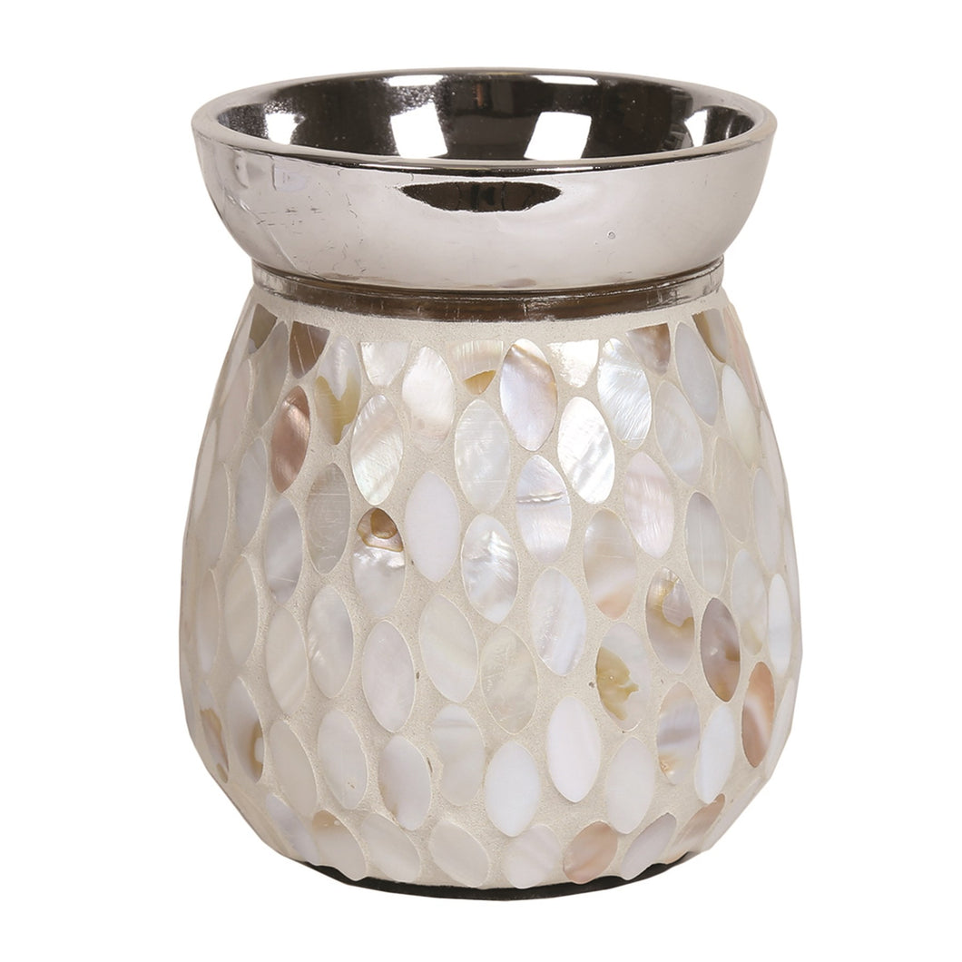 Electric Wax Melt Burner - Mother of Pearl