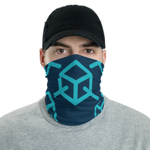Load image into Gallery viewer, Cozy Glow Blockchain Neck Gaiter