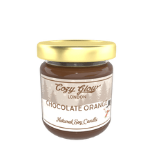 Load image into Gallery viewer, Cozy Glow Chocolate Orange Regular Soy Candle