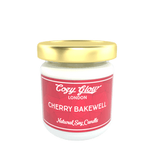 Load image into Gallery viewer, Cozy Glow Cherry Bakewell Regular Soy Candle