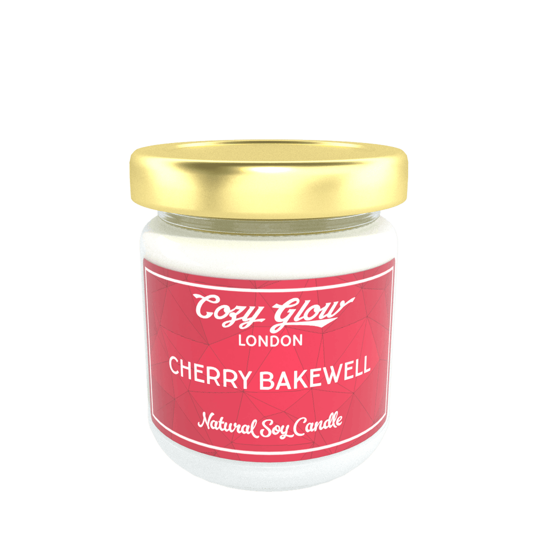 Cozy Glow Cherry Bakewell Regular Soy Candle