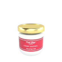 Load image into Gallery viewer, Cozy Glow Cherry Bakewell mini Soy Candle