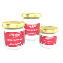 Load image into Gallery viewer, Cozy Glow Cherry Bakewell Soy Candle
