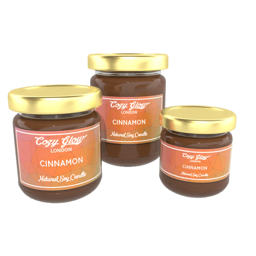 Cozy Glow Cinnamon Soy Candle