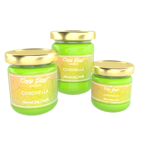 Cozy Glow Citronella Soy Candle