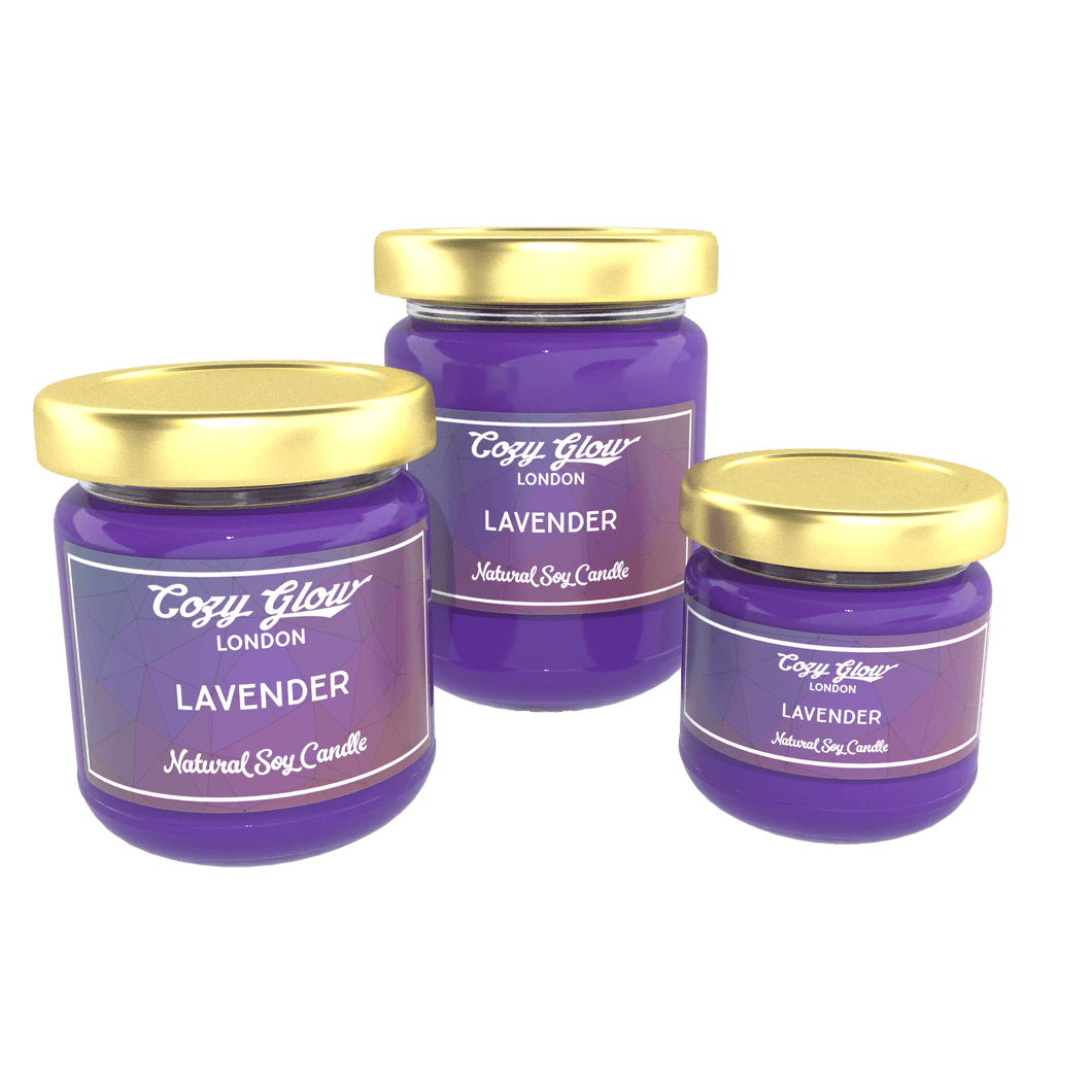 Cozy Glow Lavender Soy Candle