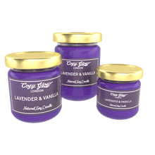 Load image into Gallery viewer, Cozy Glow Lavender & Vanilla Soy Candle