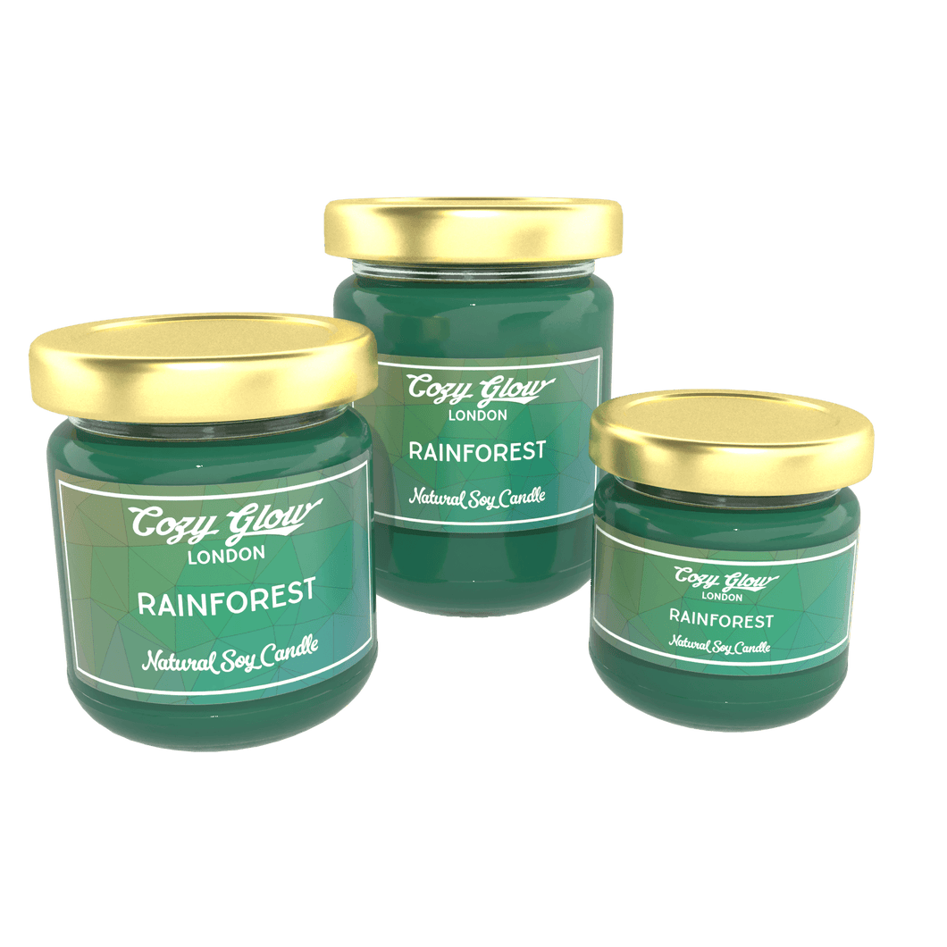 Cozy Glow Rainforest Soy Candle
