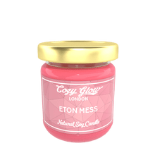 Load image into Gallery viewer, Cozy Glow Eton Mess Regular Soy Candle
