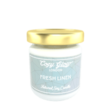 Cozy Glow Fresh Linen Regular Soy Candle