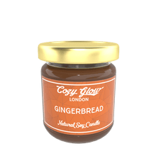 Load image into Gallery viewer, Cozy Glow Gingerbread Regular Soy Candle