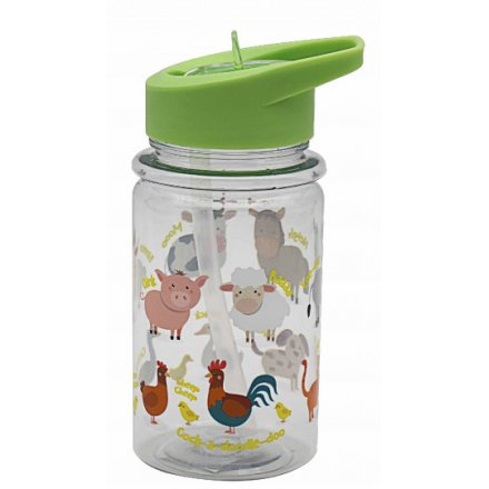Little Stars Farmyard Drinking Bottle