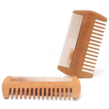 Load image into Gallery viewer, Two Sided Beard Comb