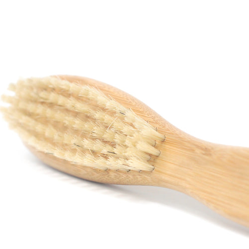 natural beard brush