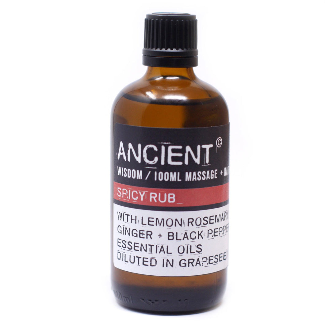 Spicy Rub Bath & Massage Oil