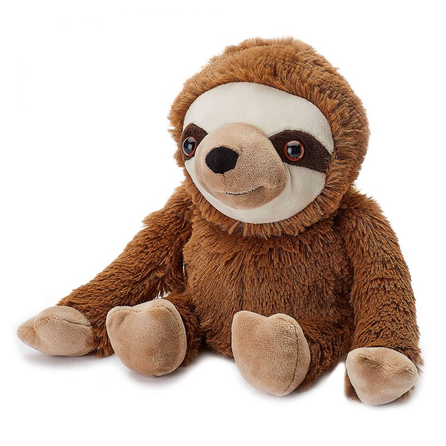 Sloth Warmies Microwavable Soft Toy