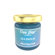 Load image into Gallery viewer, Cozy Glow Sea Breeze Regular Soy Candle