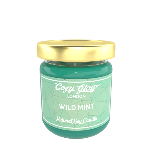 Cozy Glow Wild Mint Regular Soy Candle