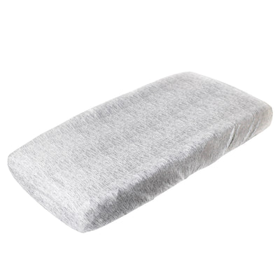 Premium Knit Diaper Changing Pad Cover - Asher