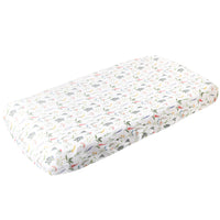 Premium Knit Diaper Changing Pad Cover - Aspen