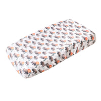 Premium Knit Diaper Changing Pad Cover - Bison
