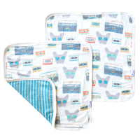 Three-Layer Security Blanket Set - Bruno