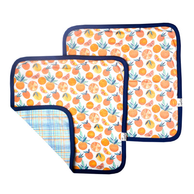 Three-Layer Security Blanket Set - Citrus