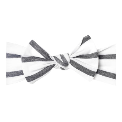 Knit Headband Bow - City