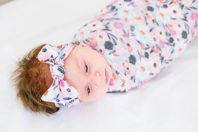 Knit Headband Bow - Morgan